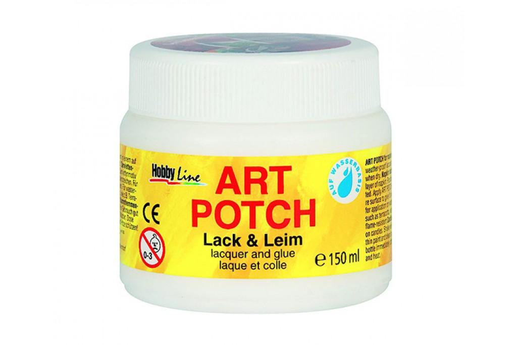 Клей лак для декупажа C.Kreul Hobby Line Art Potch обратимый 150 мл (4000798492519)