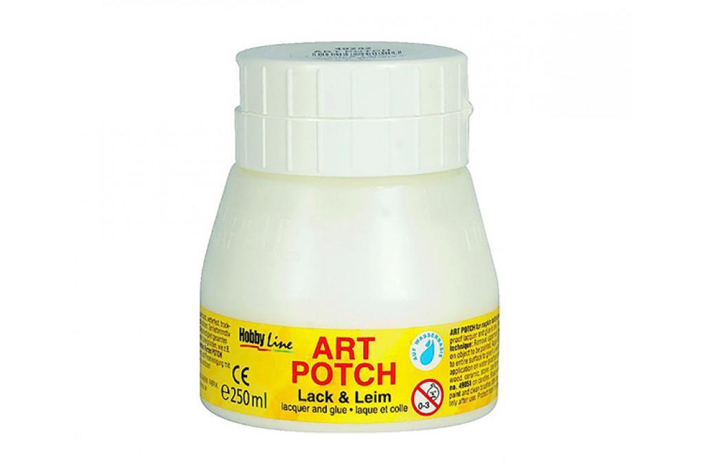 Клей лак для декупажа C.Kreul Hobby Line Art Potch обратимый 250 мл (4000798492526)