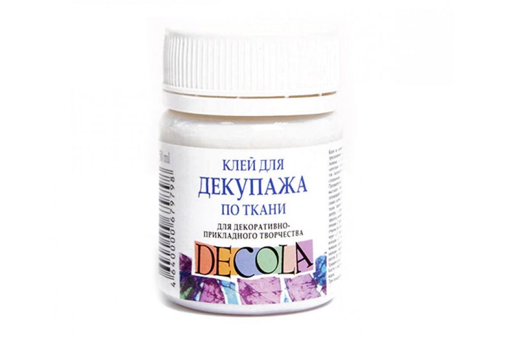 Клей для декупажа Decola по ткани 50 мл (4640000679798)