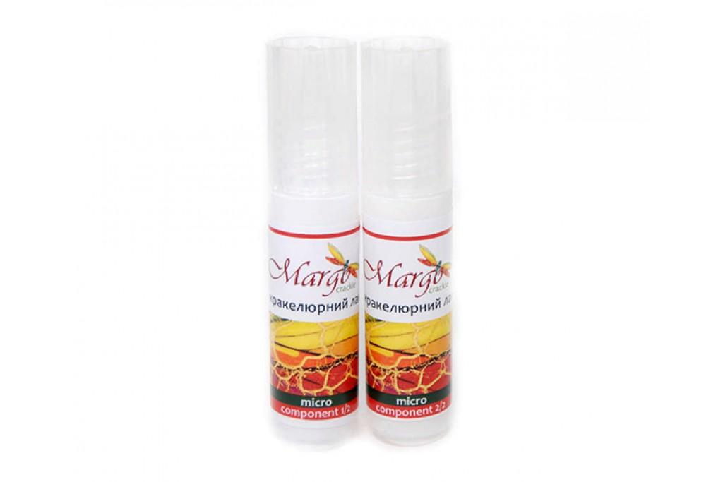 Набор лаков для крелюра Rosa Margo Micro двухкомпонентный 20 + 20 мл (5997412709483)