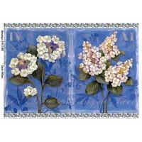 Бумага для декупажа Alizarin 20х30см Винтажные цветы 9013062