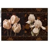 Бумага для декупажа Alizarin 20х30см Винтажные цветы 9013065