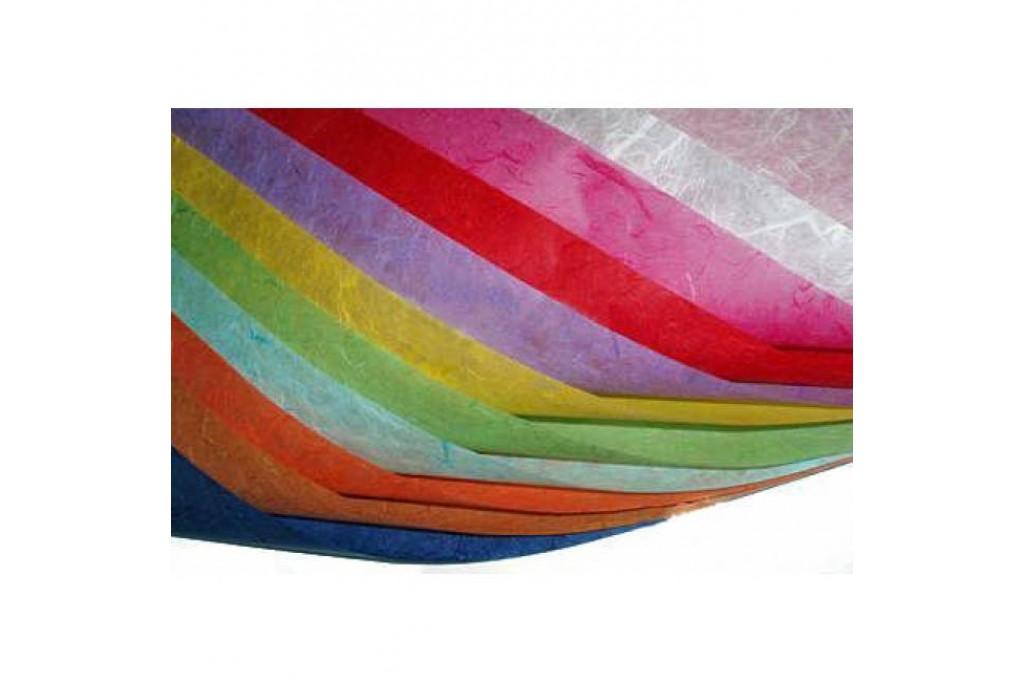 Бумага рисовая декупажная без рисунка 20x30 см (23 цвета)