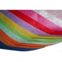 Бумага рисовая декупажная без рисунка, 20x30 см (23 цвета)