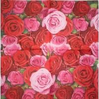 Салфетка декупажная, Цветы и растения, 33х33 см, 0563