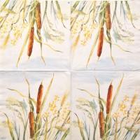 Салфетка декупажная, Цветы и растения, 33х33 см, 0013