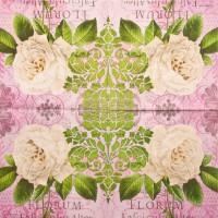 Салфетка для декупажа Цветы и растения 33х33 см 0245