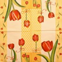 Салфетка декупажная, Цветы и растения, 33х33 см, 0275