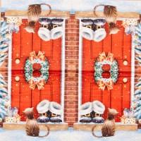 Салфетка для декупажа Праздники 33х33 см 0371