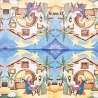 Салфетка для декупажа Праздники 33х33 см 0383