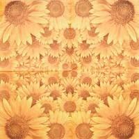 Салфетка для декупажа Цветы и растения 33х33 см 0388
