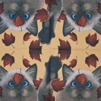 Салфетка для декупажа Животные и птицы 33х33 см 0621