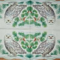 Салфетка декупажная, Животные и птицы, 33х33 см, 0632