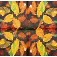 Салфетка декупажная, Цветы и растения, 33х33 см, 0666