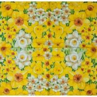 Салфетка декупажная, Цветы и растения, 33х33 см, 0714