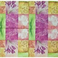 Салфетка декупажная, Цветы и растения, 33х33 см, 0720
