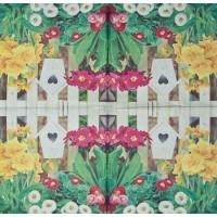 Салфетка декупажная, Цветы и растения, 33х33 см, 0737