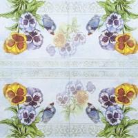 Салфетка декупажная, Цветы и растения, 33х33 см, 0857