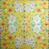 Салфетка декупажная, Цветы и растения, 33х33 см, 0916