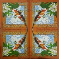 Салфетка для декупажа Животные и птицы 33х33 см 0952