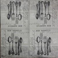 Салфетка для декупажа Кухонные 33х33 см 0953