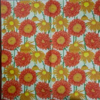 Салфетка декупажная, Цветы и растения, 33х33 см, 0970