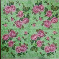 Салфетка для декупажа Цветы и растения 33х33 см 0975