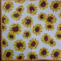 Салфетка для декупажа Цветы и растения 33х33 см 0976