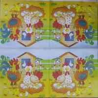 Салфетка декупажная, Праздники, 33х33 см, 1008