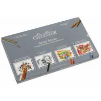 Набор карандашей для рисунка Cretacolor Artist Studio Sketching and Drawing Set 72 предм. метал