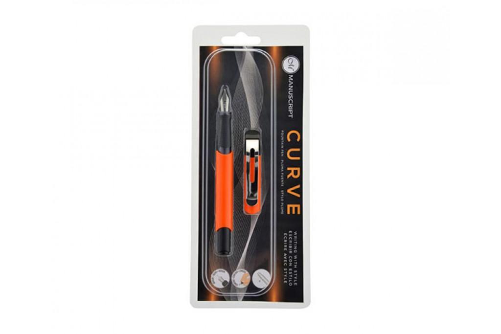 Перьевая ручка Manuscript Curve оранжевая