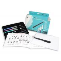 Набор для каллиграфии Manuscript Calligraphy Compendium (4 ручки, 5 пер, 18 картриджей, конвертер, бумага)