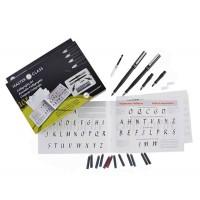 Набор для каллиграфии Manuscript Masterclass Set (2 ручки, 4 пера, 12 картриджей, конвертер)