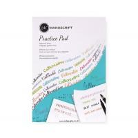 Склейка для каллиграфии, Creative Writing Practice Pad, 80г/м2,50 л, Manuscript