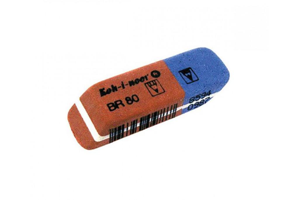 Ластик Koh-i-Noor BlueStar 6521/80 35x13 мм