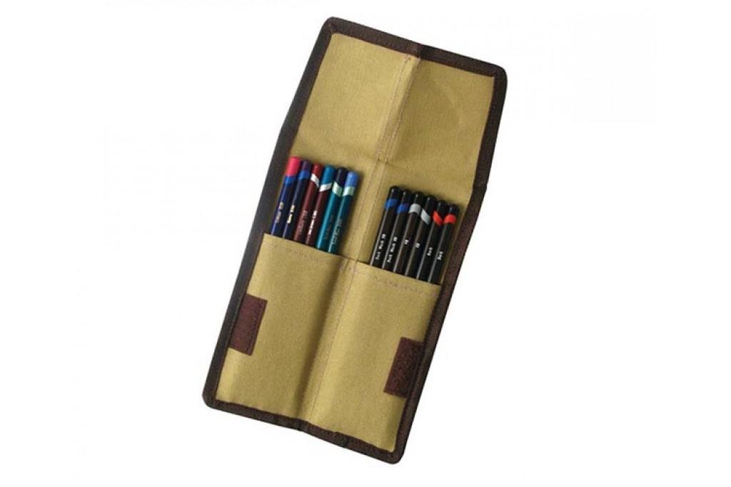 Пенал для карандашей Derwent 12 шт