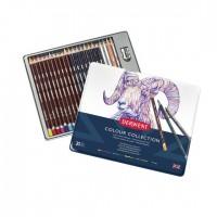 Набор цветных карандашей Derwent Colour Collection 24 предм. метал