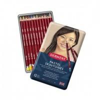 Набор пастельных карандашей Derwent Pastel Pencils Телесные оттенки 12цв. метал
