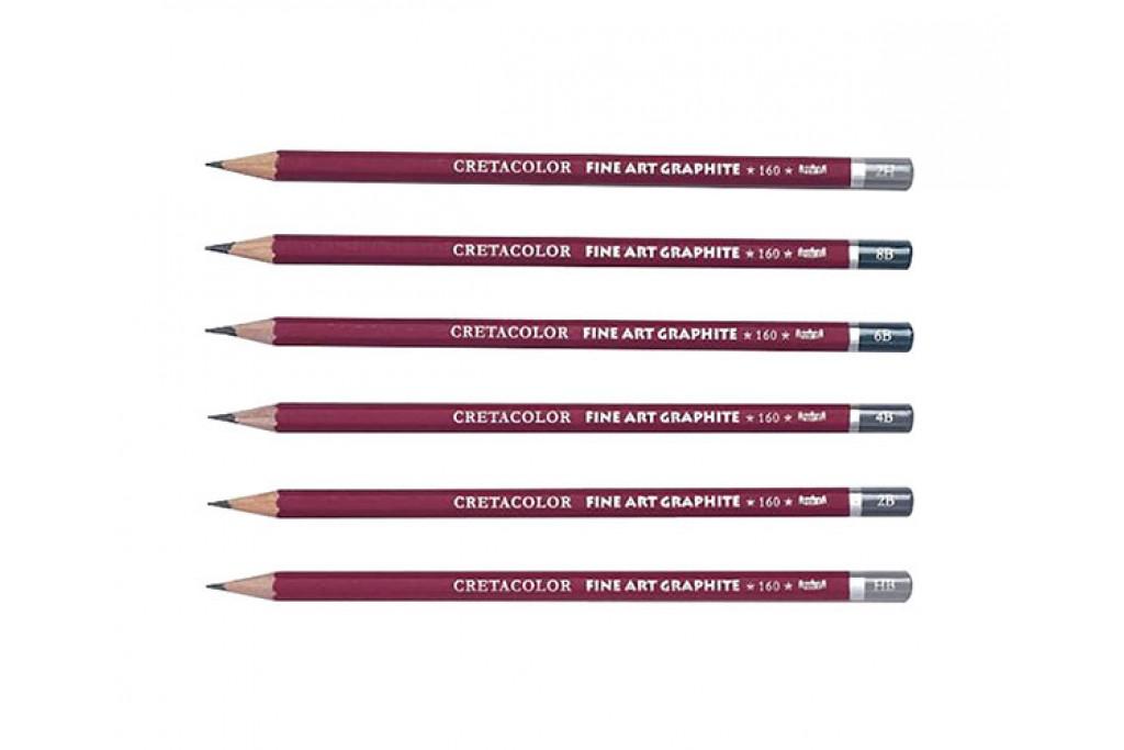 Карандаш графитный Cretacolor Сleos 9Н-9В
