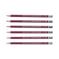 Карандаш графитный Cretacolor Сleos 9Н-9В (20 вариантов)