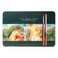 Набор акварельных карандашей 48 цв., метал, FineArt, Marco