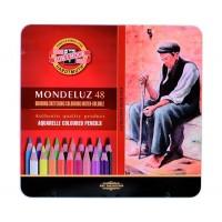 Набор акварельных карандашей Koh-i-Noor Mondeluz 48цв. метал