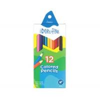 Набор цветных карандашей 12цв. , картон., Coloritе, Marco