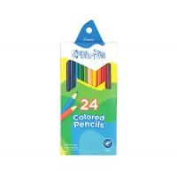 Набор цветных карандашей 24цв. , картон., Coloritе, Marco