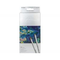 Набор цветных карандашей 24цв. , картон., Raffine, Marco