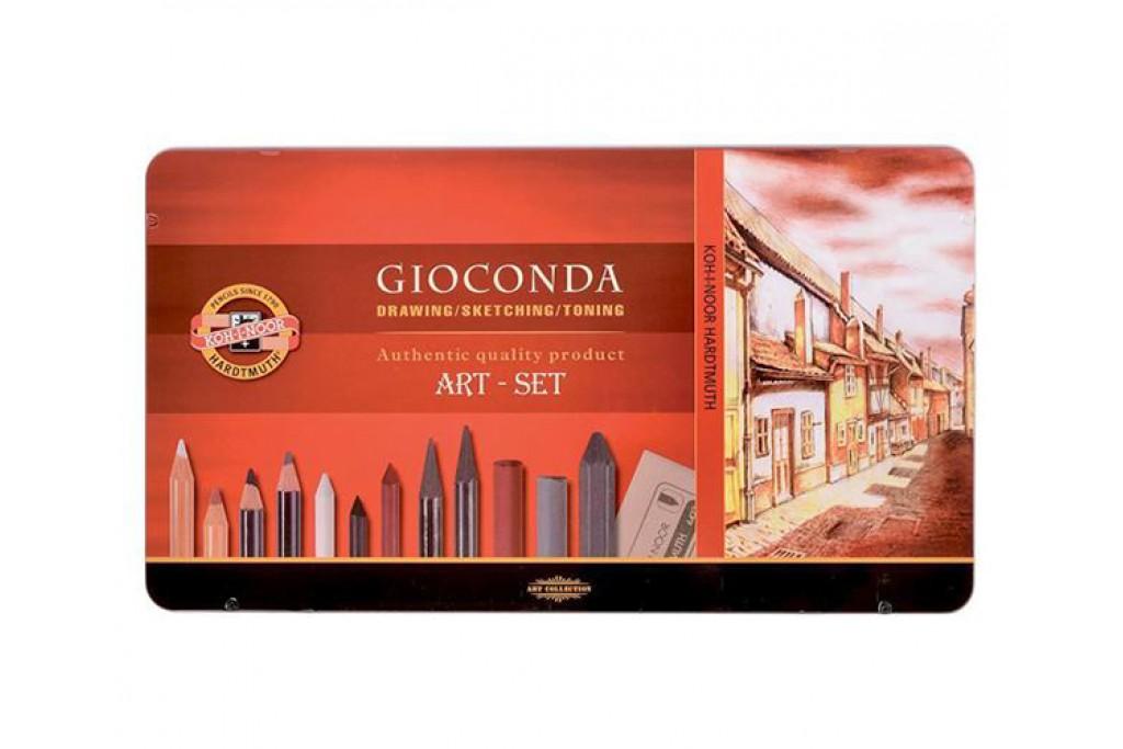 Набор для рисунка Koh-i-Noor Gioconda 8891 39 предметов металлический пенал