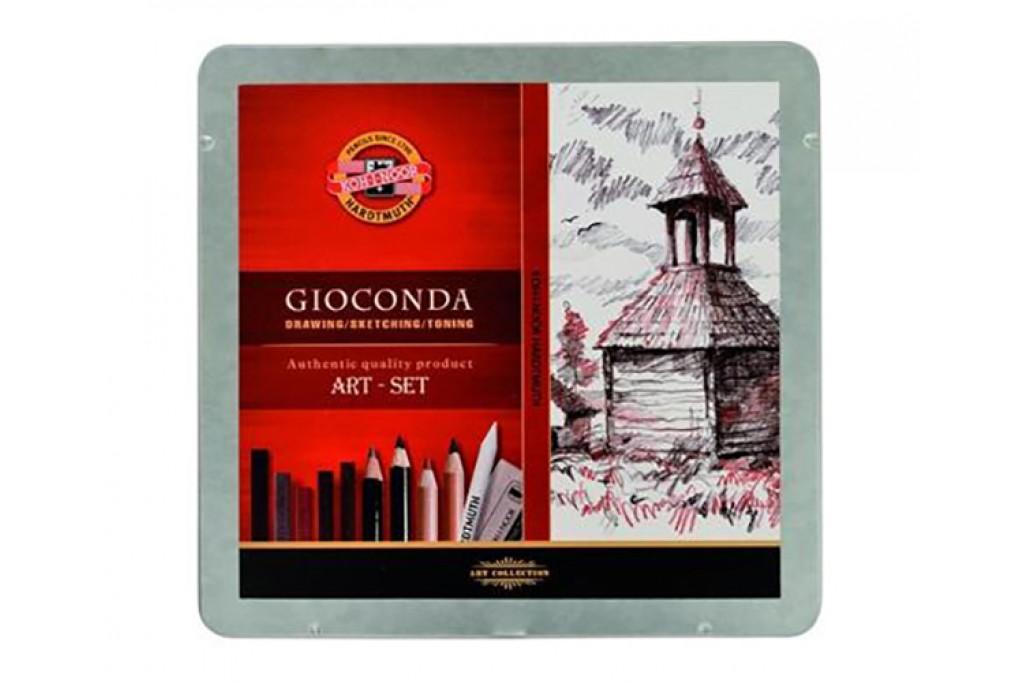 Набор для рисунка Koh-i-Noor Gioconda 8899 24 предмета металлический пенал