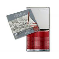 Набор графитных карандашей Cretacolor Cleos 24 шт метал