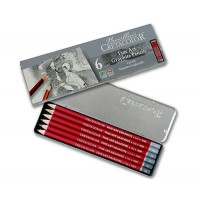 Набор графитных карандашей Cretacolor Cleos 6 шт метал