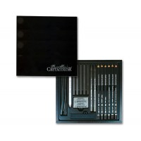 Набор карандашей для рисунка 20 пред., дерево, Black Box, Cretacolor